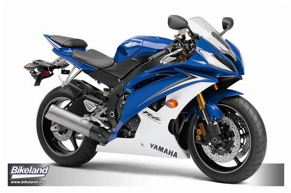 Yamaha r1 blue and white