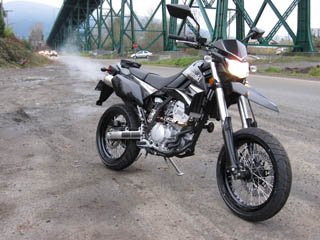 2009 Kawasaki KLX250SF Supermotard – First Ride!
