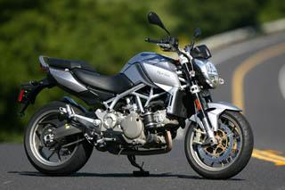First Ride! 2009 Aprilia Mana 850